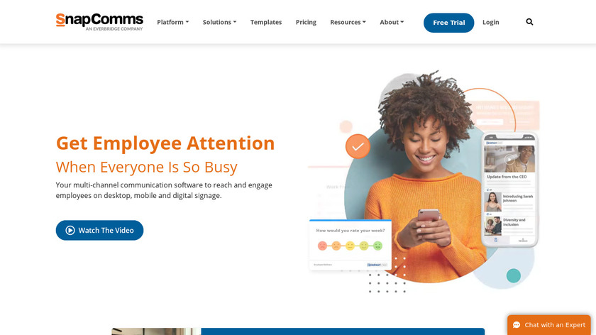 SnapComms Landing Page