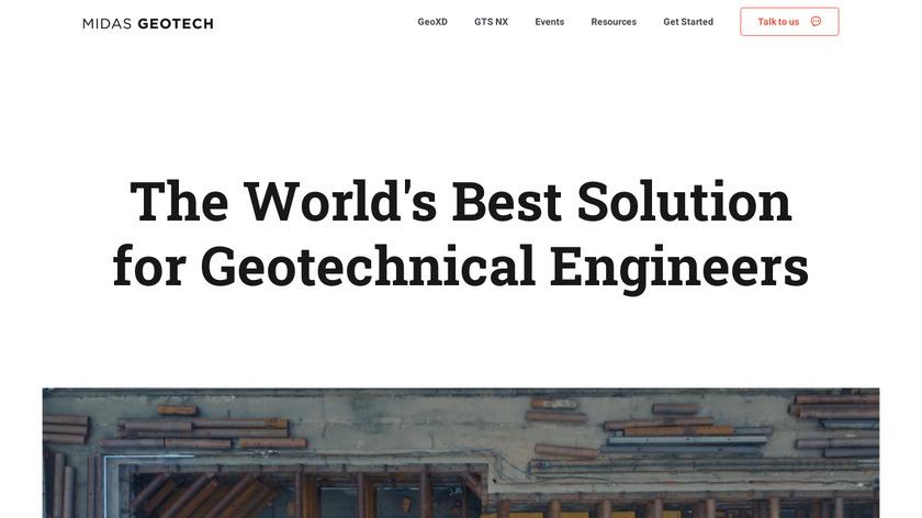 midas GTS NX Landing Page