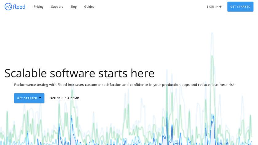 flood.io Landing Page