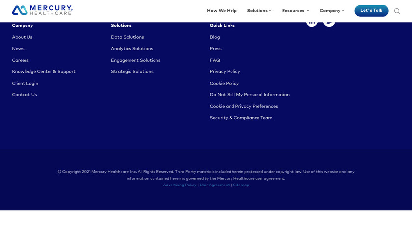 Influence Health Landing Page