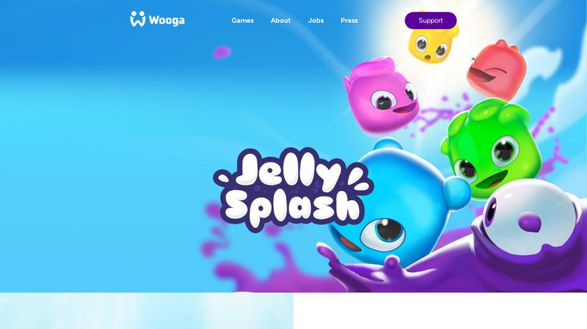 Jelly Splash Landing Page