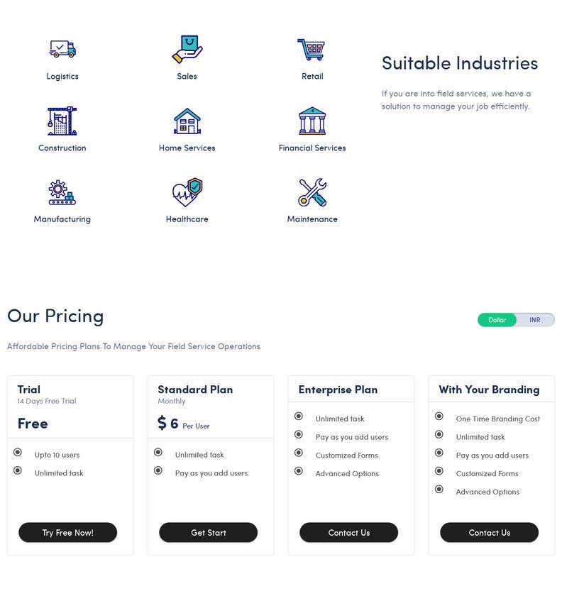 TaskCare Pricing