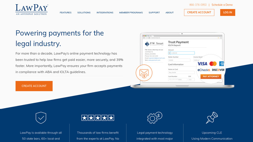LawPay Landing Page