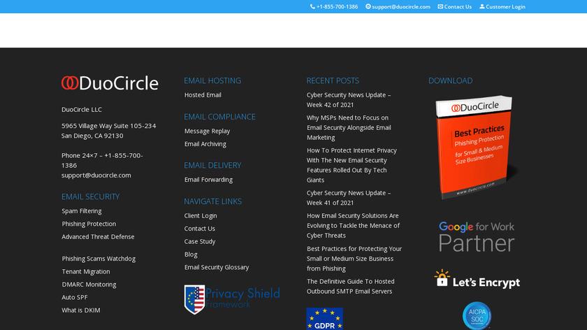 DuoCircle Landing Page