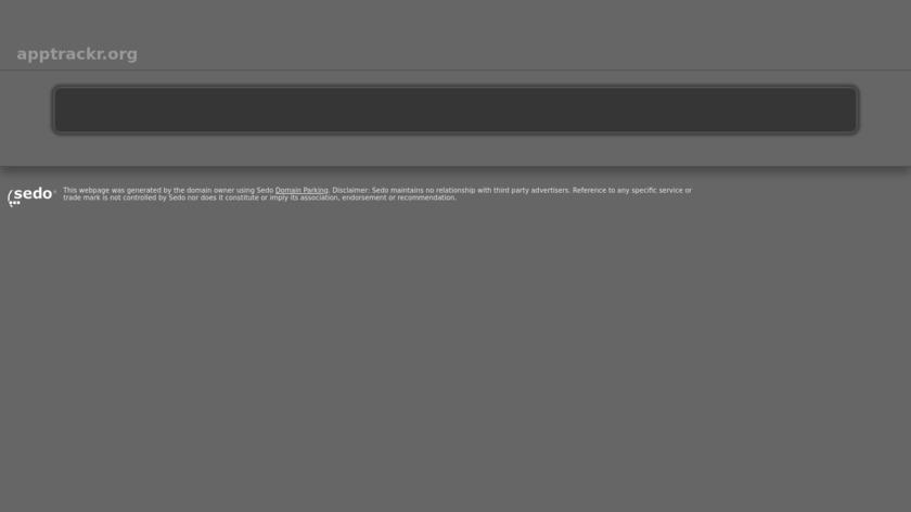 AppTrackr Landing Page