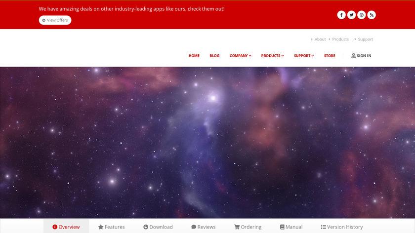 AirRadar Landing Page