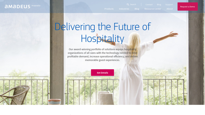 TravelClick Landing Page