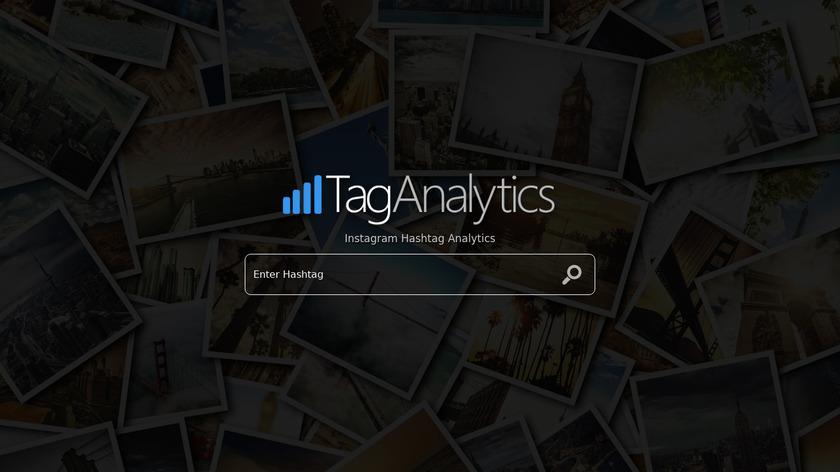 TagAnalytics.com Landing Page