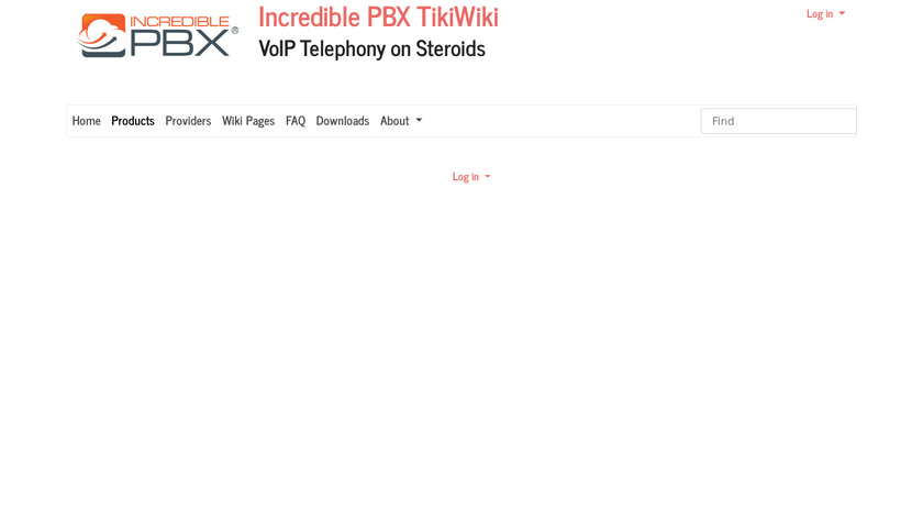 The Incredible PBX Landing Page