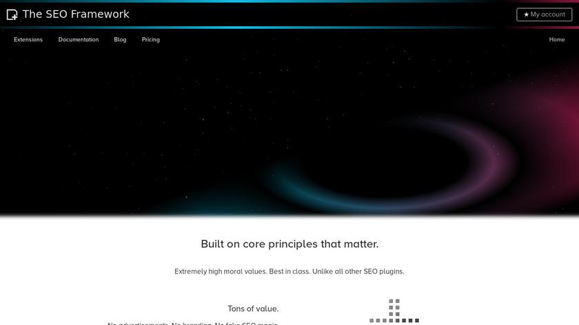 The SEO Framework Landing Page