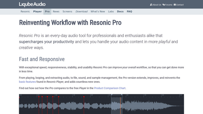 Resonic Pro Landing Page