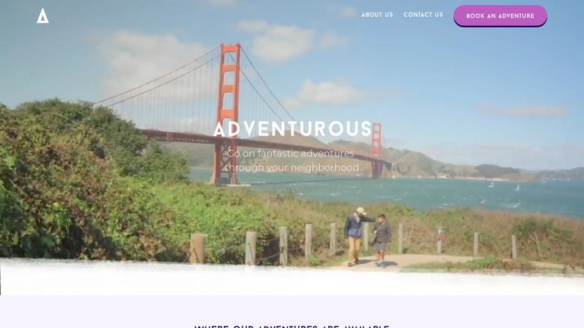 Adventurous Landing Page