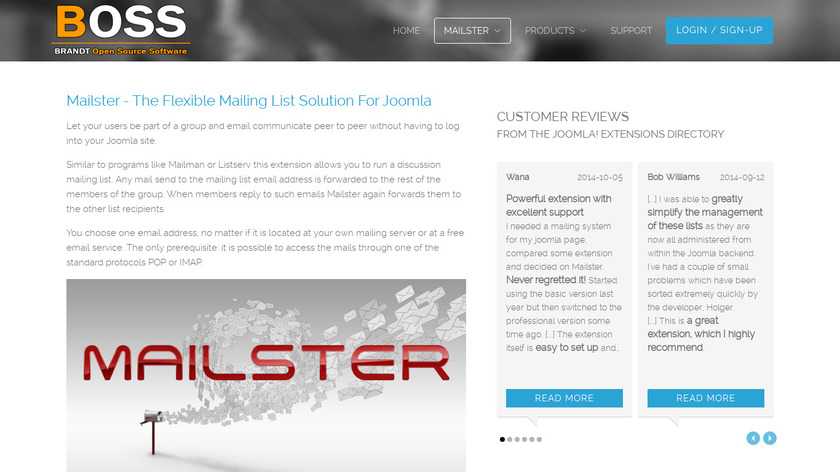 Mailster Landing Page