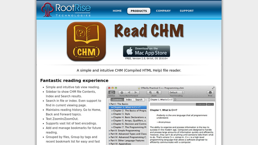Read CHM Landing Page