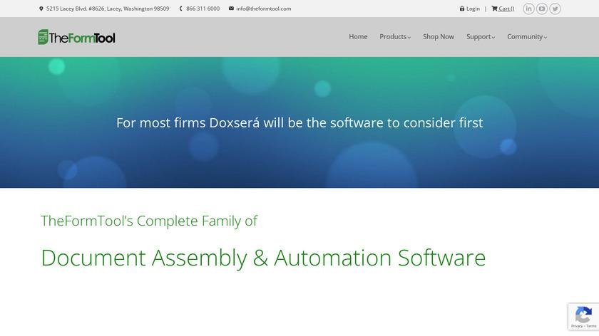 TheFormTool Landing Page