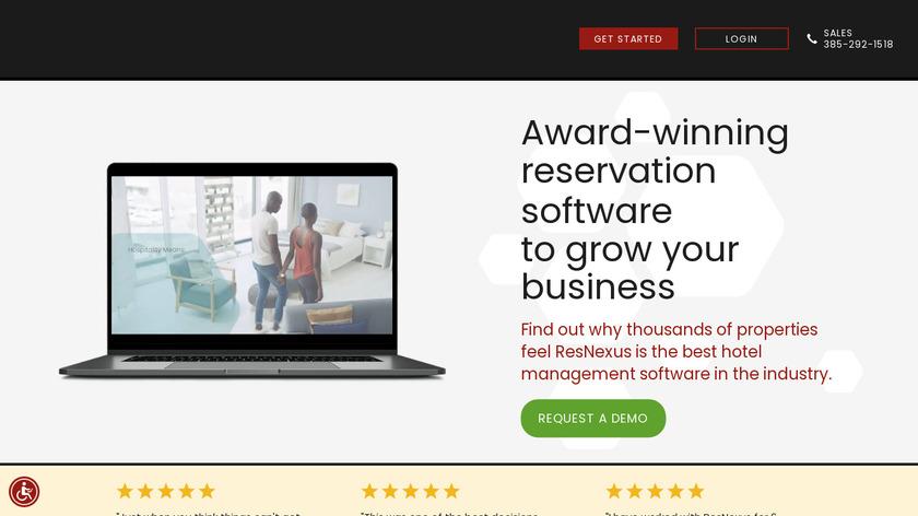ResNexus Landing Page