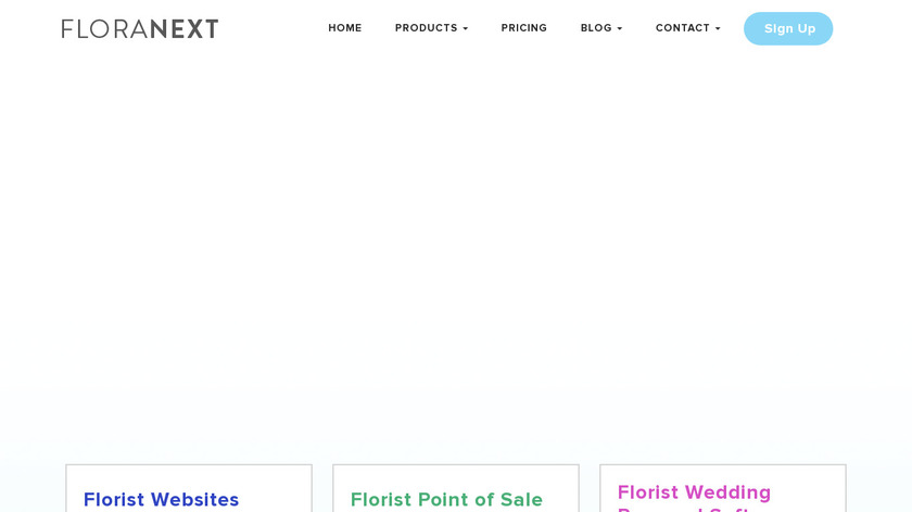 Floranext Landing Page