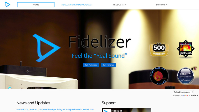 Fidelizer Landing Page