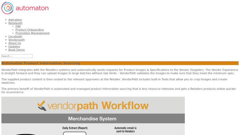 Vendorpath Landing Page