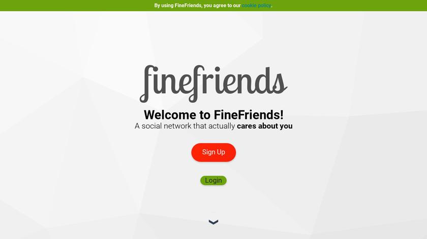 FineFriends Landing Page