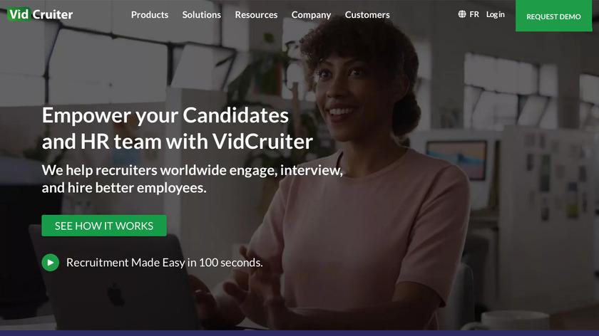VidCruiter Landing Page