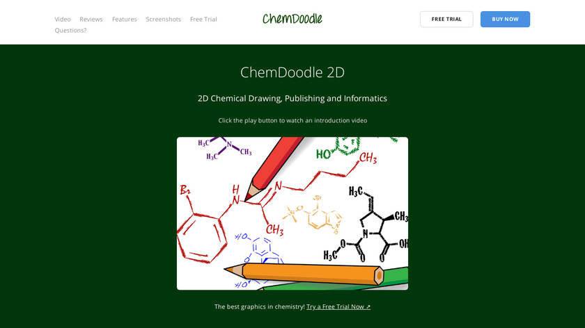 ChemDoodle Landing Page