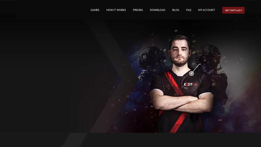 ExitLag Landing Page