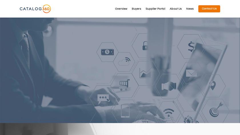catalog360 Landing Page