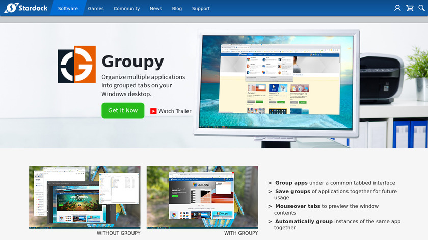 groupy Landing Page