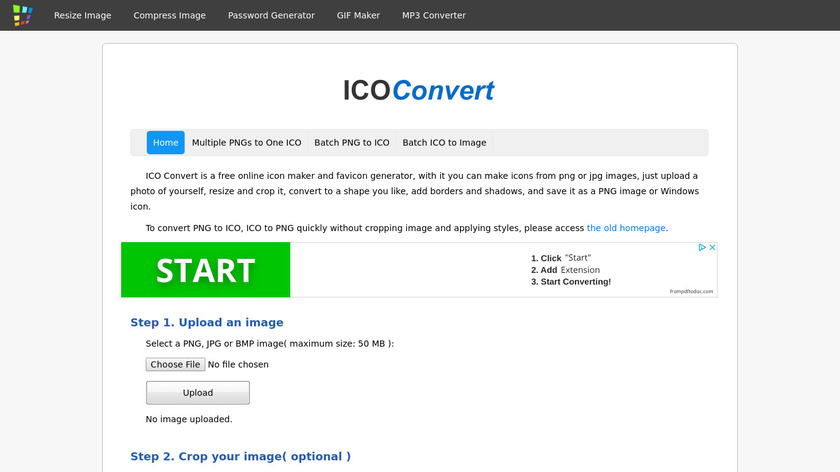 ConvertICO.org Landing Page