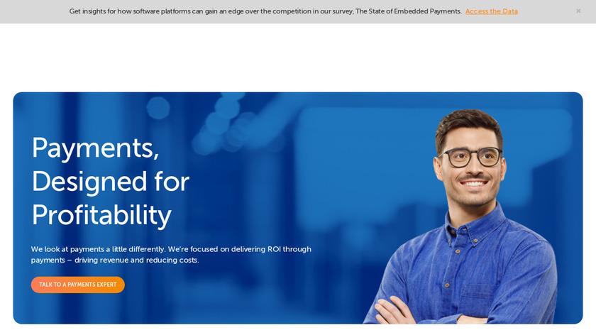 BlueSnap Landing Page