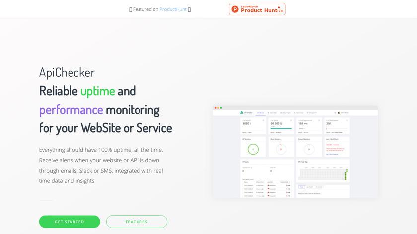 ApiChecker Landing Page