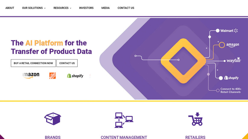 Venzee Landing Page