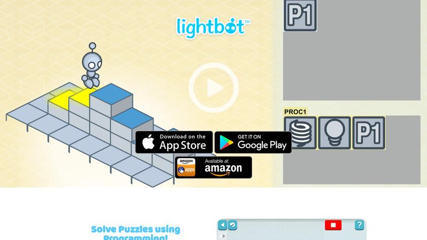 LightBot Landing Page