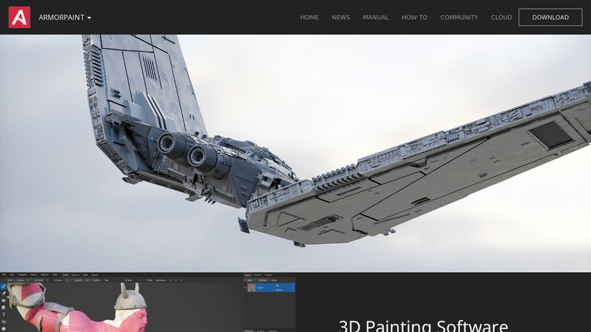 Armor Paint Landing Page