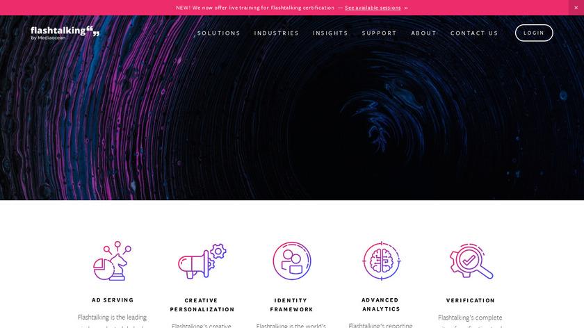 FlashTalking Landing Page