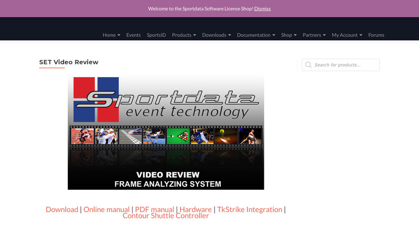 SET Video Review Landing Page