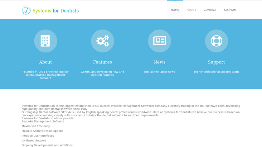 Systems for Dentists Landing Page