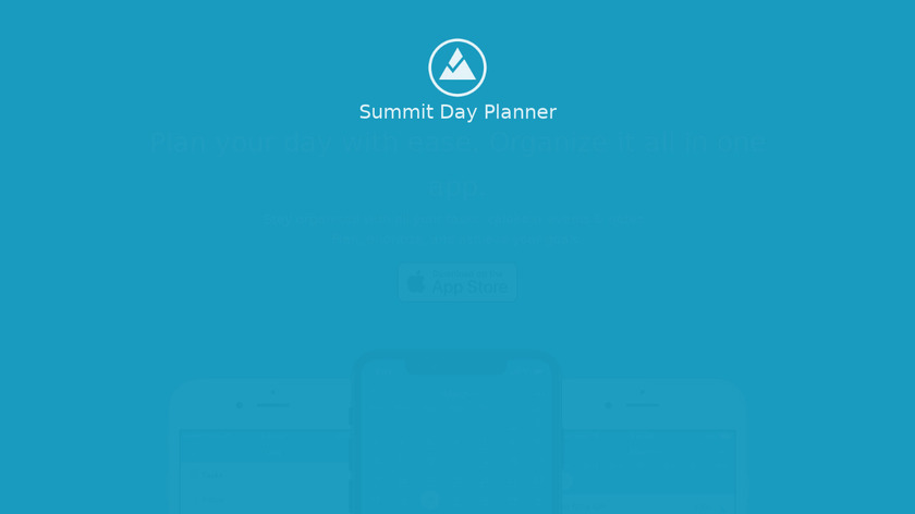 Summit Day Planner Landing Page