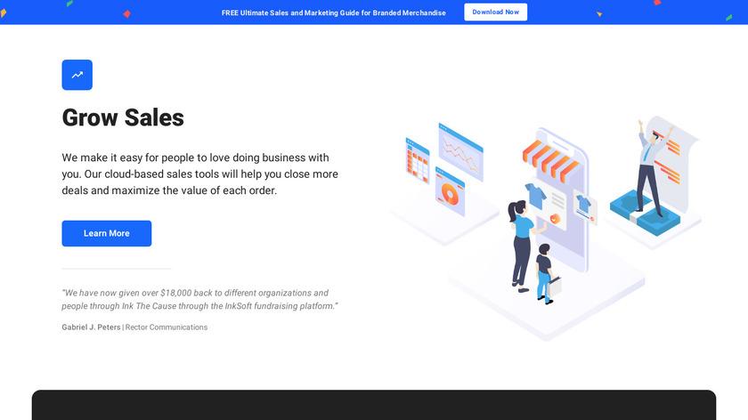 InkSoft Landing Page
