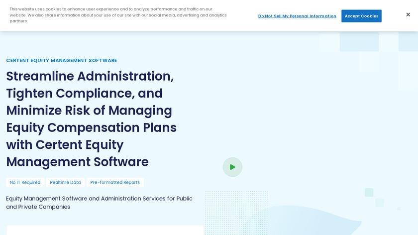 Certent Equity Compensation Management Landing Page
