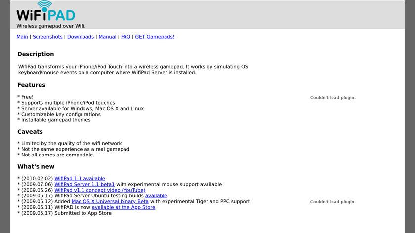 Wifipad Landing Page