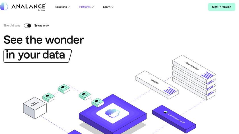 Analance Landing Page