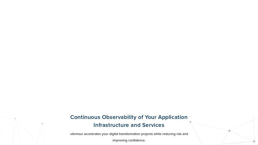 vArmour Landing Page