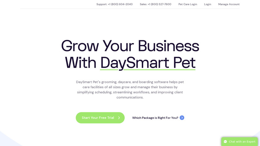 123Pet Software Landing Page