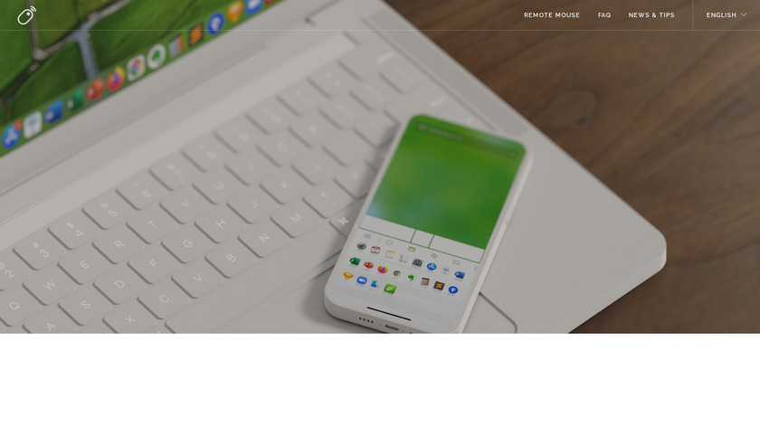 Remote Mouse Landing Page