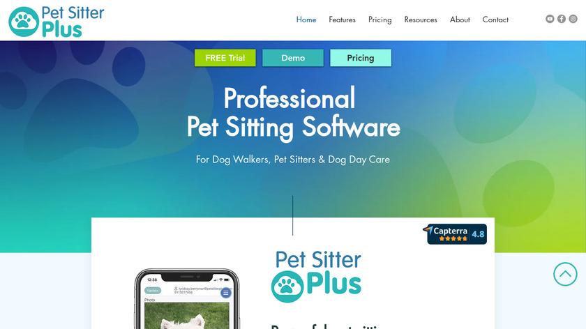 Pet Sitter Plus Landing Page