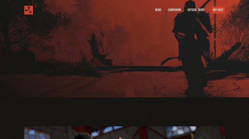 Rust Game Landing Page