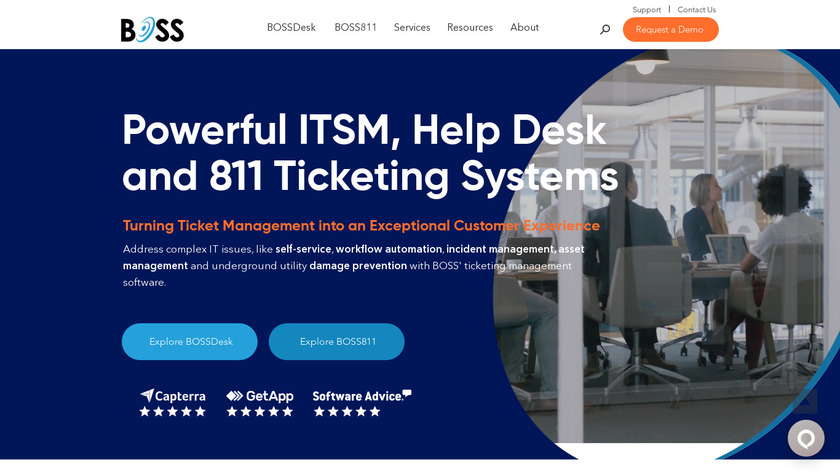 BOSS Solutions Landing Page