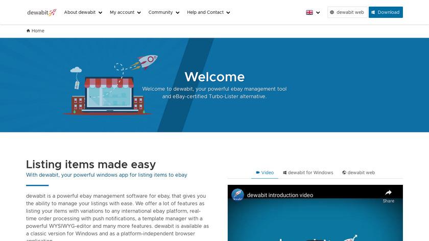 dewabit.com Landing Page